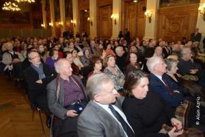 Le public venu nombreux pour assister à la soirée hommage à Lucien Finel