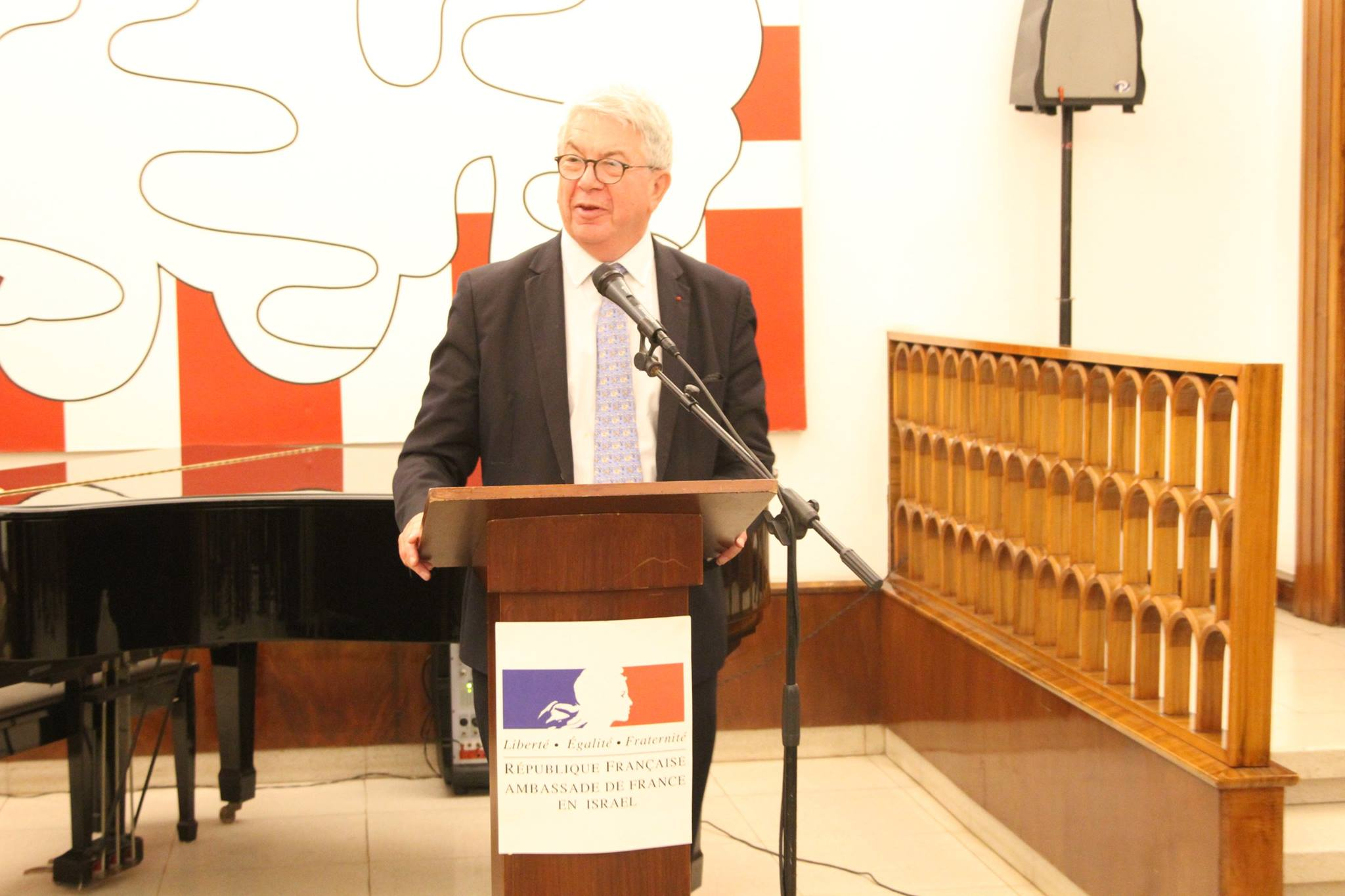 Credit photos: Ambassade de France en Israël / Elodie Sauvage