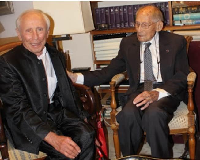 Daniel Loinger et Georges Loinger