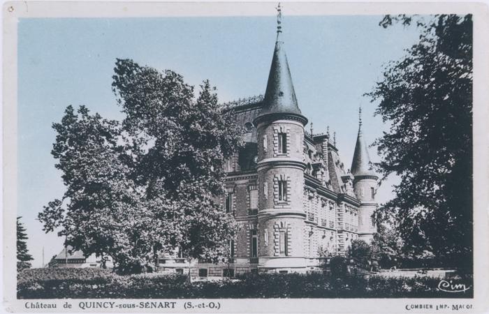 Quarante garçons de Berlin arrivent en juillet 1939 au château de Quincy-sous-Sénart, ouvert par le comte Hubert de Monbrison, président du comité pour les réfugiés politiques.